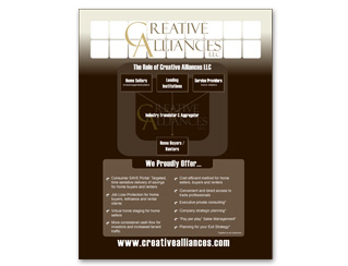 Creative Alliances Flyer