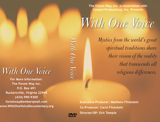 With One Voice DVD Cover